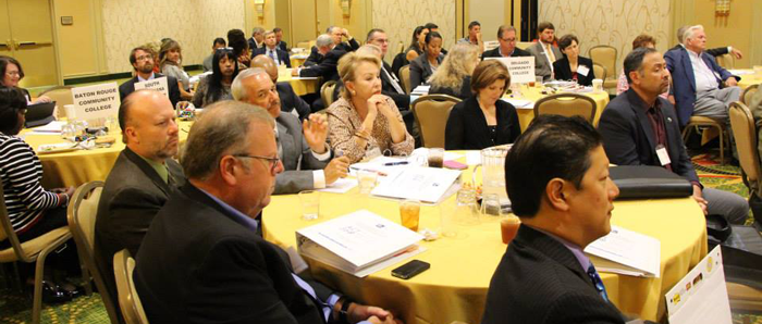 College leaders from across the state gather in New Orleans for a fundraising workshop focused on ACT 360.