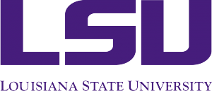 LSU. Louisiana State University Logo