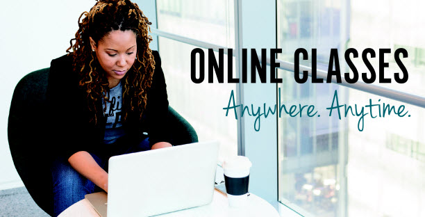 Online Classes - Anywhere. Anytime.